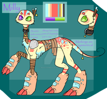 Milly Ref by MonsterMeds