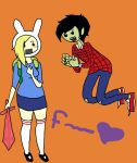 Fionna and Marshall Lee by Goofy47