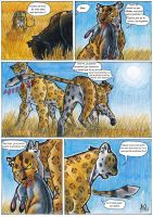 Africa Comic - Test Page FR by Aspi-Galou