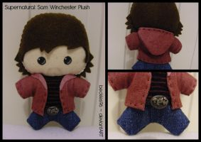 Supernatural: Sam Plush by StitchedAlchemy