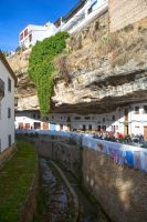 Town under rock by olgaFI