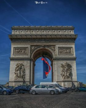 Arc de Triomphe paris  by blackcrowphoto