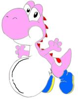 Pregnant Yoshi Colored by FTD23