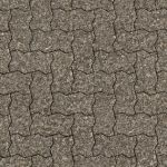 Seamless brick pavement patio texture by hhh316