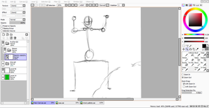 WTF Skeletal Structure for Ryohei WIP by ImoExploder007