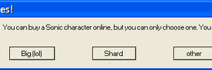 Sonic Error Message by Sonicluvr5