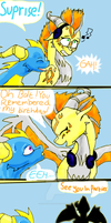 Comic: Suprise p 2 by WandaTheDragon