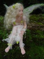 Summer OOAK Fairy Art Doll by LindaJaneThomas