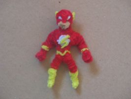 The Flash by fuzzyfigureguy