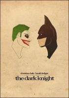 The Dark Knight - Film Poster by BrentonPowell