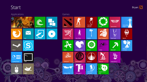 Windows 8 Custom Tiles by soulrider95
