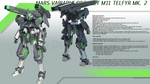 Telfyr Mk. 2 Design Sheet by TurinuZ