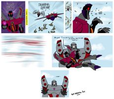 Starscream gets the drop by kykywka