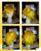Super Sonic wig -w.i.p.- by Chibiko