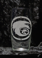 Toothless: Defenders of Berk - Engraved Glass by Crimson-Mane