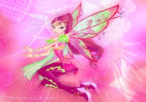 Winx Club season 6 Roxy Bloomix by fantazyme