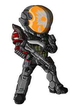 Chibi Reach - Emile 239 by GuyverC