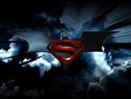 batman superman logo 2 by brcohen