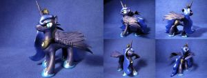 MLP - 'Princess Luna' by Ksander-Zen