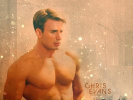Chris Evans by Claire-Wesker1