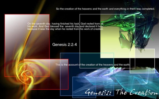 Genesis - The Creation by eileenting88