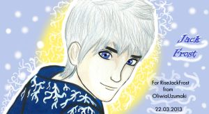 Jack Frost (Rise of the Guardians...) by OliwiaUzumaki