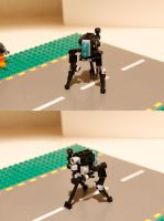 LEGO Half-Life 2 Combine Hunter by NeweRegion