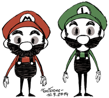 Don't Starve - Super Mario Bros. by TariToons