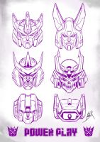 6 DECEPTIHEADS by neurowing