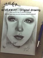 Giveaway - Original drawing by WitchiArt