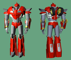 3D TFP Knockout 4 by RazzieMbessai