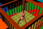Happy Baby In Play Pen by misssusan002
