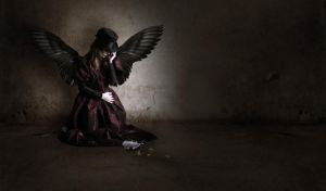 Grieving Angel by ritter99