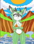 Clove The Pronghorn Colored by dreamcastzx