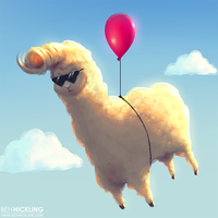 Alpaca Icon by BenHickling