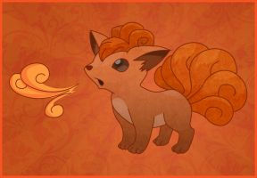 Vulpix by p00pstr34ks