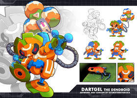 MMZX Ultimus- Dartgel the Dendroid by ultimatemaverickx