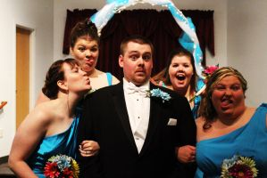 The Groom and the Attack of the Silly Bridesmaids by Vimmuse