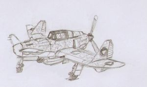 Strelkanese air force P31 A fighter by dan338