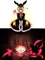 Pandora Hearts who is inside by ShionMion