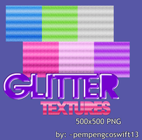 Glitter Textures PNG by pempengcoswift13
