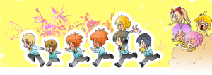 Ouran Host Club:On the Run by nondekin