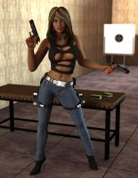 Maya - Got Guns? by 007Fanatic