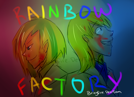 Rainbow factory by Brixyfire