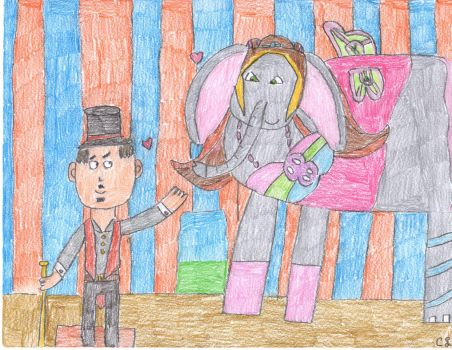 Flora The Circus Elephant by MyMelodyOfTheHeart
