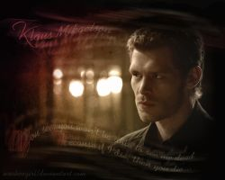 Klaus Mikaelson by WooHooGirl