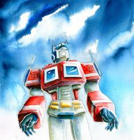 Optimus Prime by The-Starhorse