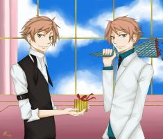 Ouran - Gift by Narista