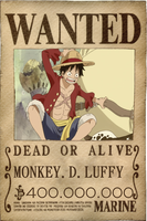 Luffy New Wanted by Vero-Light