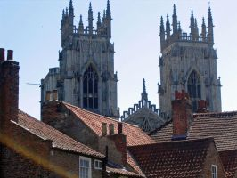 York Minster roofs by piglet365